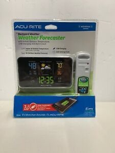Acurite-13044-Weather-Forecaster-Center-Alarm-Clock-New-Sealed-in-Box