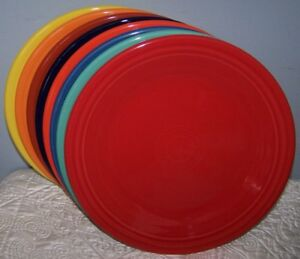 Image Is Loading New Set Of 8 Fiestaware Mixed Color 10