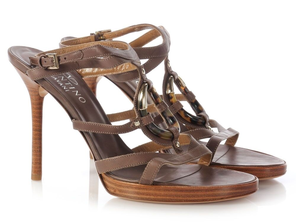 VALENTINO Strappy Sandals, Size sexy 39.5 9 ~ A sexy Size style! c667d6
