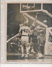 Original Pat Riley U of Kentucky 1965 Photo w Larry Conley played Texas Western