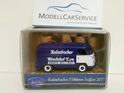 "Wiking colección 1//87 h0 VW t1 coche recuadro /""Kulmbacher mönchshof-cervezas/"""