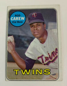 1969-Rod-Carew-510-Minnesota-Twins-Topps-Baseball-Card-HOF
