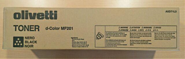 Original Olivetti d-Color MF 201 Toner bk, cyan, magenta yellow OVP !!!