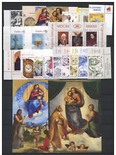 2012 vaticano Papa Benedetto XVI annata completa 14 val ** MNH con BF