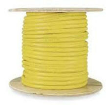 100' SJOOW 12/3 300V UL/CSA Indoor/Outdoor Portable Power Cable  - Yellow