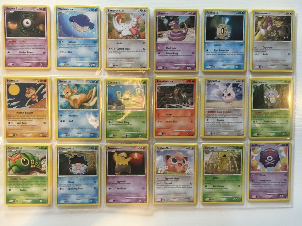 Samlekort, Sjældne Pokémon Kort - D&P: Great Encounters