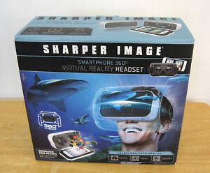 Sharper Image Virtual Reality Headset Smartphone 360 694202126813 Ebay