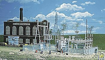 WALTHERS CORNERSTONE HO SCALE 1 87 NL&P SUBSTATION   BN   933-3025