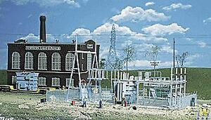 WALTHERS-CORNERSTONE-HO-SCALE-1-87-NL-amp-P-SUBSTATION-BN-933-3025