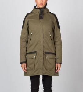 Parka jacket with no fur
