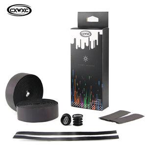 Cycling-Road-Bike-Cork-Handlebar-Reflective-EVA-Tape-Bandage-Wrap-Bent-Bar-Grip