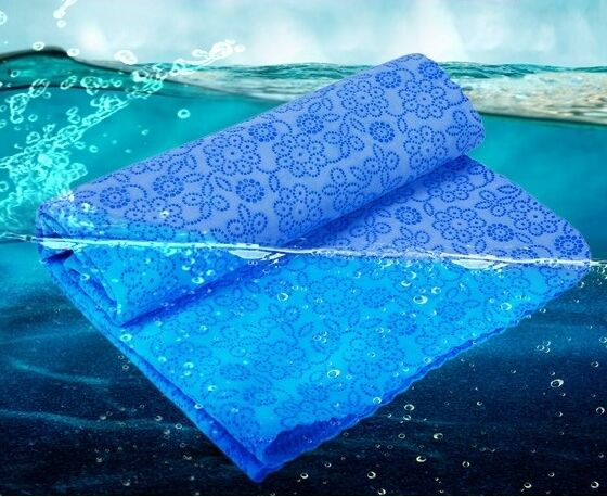 Swimming/Diving Hydrophilic Shammy Towel, New Generation, Microfibre Swim Towel