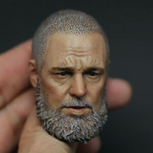 """Zctoys 1/6 Scale Russell Crowe Head Sculpt Model For 12"""" Male Action Figure Body"""