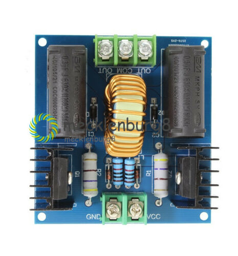 10A 200W DC 12V-30V ZVS Tesla Coil Driver Generator High Voltage Power Supply