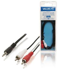 Cable-adaptateur-audio-jack-3-5-mm-stereo-male-vers-2x-rca-males-1-50-m-noir