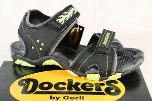 Dockers-by-Gerli-sandalia-sandalias-zapatos-de-verano-negro-42sl613-nuevo