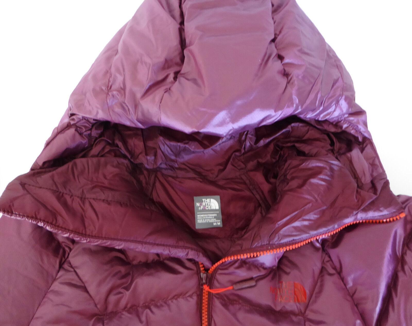 THE THE THE North Face Wouomo immaculator Parka 800 Giù Giacca Arrampicata ROSSO GRANATO M b33bfb