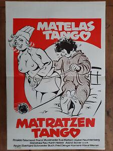 Plakat Belgischer Matte Tango Eberhard Schroeder Erotik