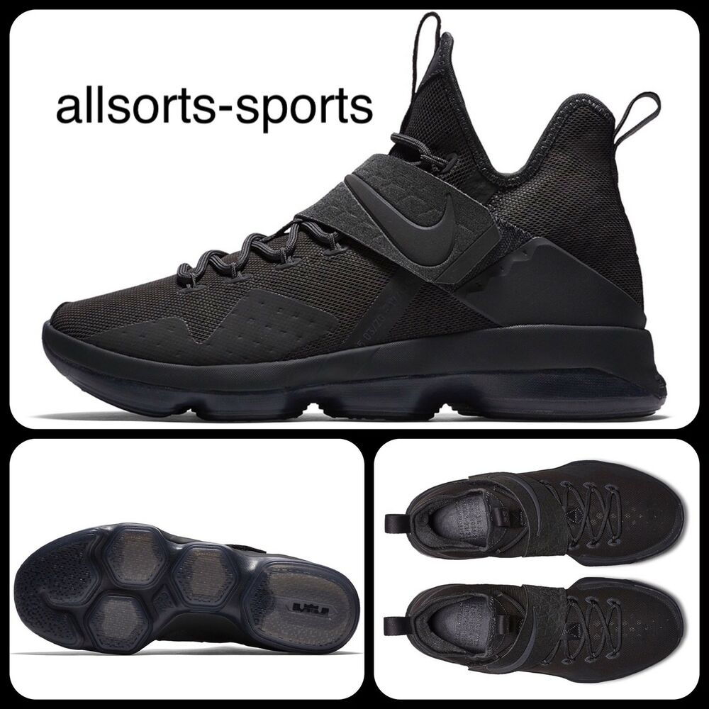 S92 nike lebron XIV Limited Zero Dark Thirty noirout UK 7 EUR 41 852402 -002-