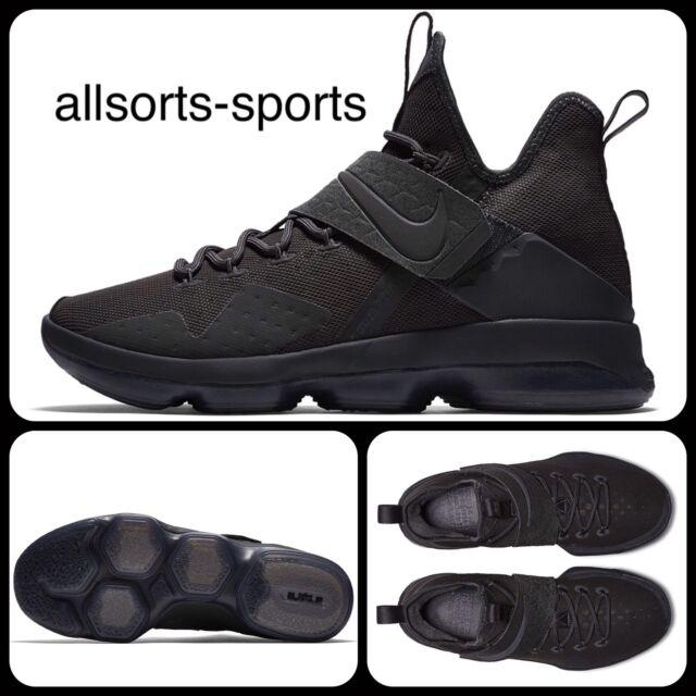 3b1c4e1783b S92 Nike Lebron XIV Limited Zero Dark Thirty Blackout Uk 7 Eur 41 852402-002