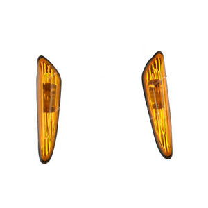 Pair-Front-Indicator-Repeater-Lamp-Signal-Light-For-BMW-E46-3-Series-1998-2010