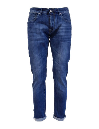 Wpm 11219 Wampum Pantolne Denim Modello 1892 Slim Jeans Fit Elastico UwEgqwO