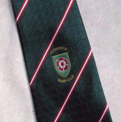 2019 Nuovo Stile Vintage Rugby Cravatta Da Uomo Cravatta Retro Sport Petersfield Rfc-mostra Il Titolo Originale