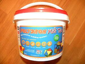 POLYDRON-Midi-Tub-fantastic-80-piece-set-The-educational-construction-toy