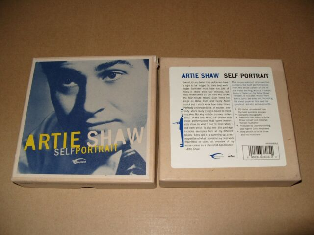 Artie Shaw - Self Portrait [Bluebird Anthology] (2001) cd 1 is Missing/4 cd Ex+