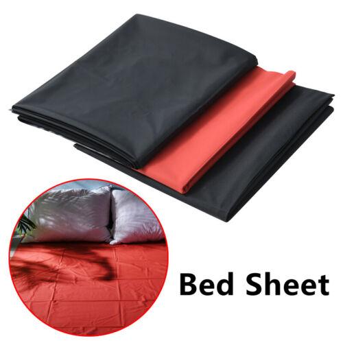 Pvc Plastic Bed Sheets Vinyl Waterproof Water Mattress Full Cover Queen King New