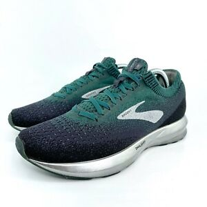 Brooks-Levitate-2-1102901D332-Running-Shoes-Men-039-s-Size-8-5-D-Green-Grey
