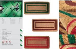 OLIVO.shop - Zerbino in cocco SUPER ASCIUGAPASSI antiscivolo 3 colori 5 misure
