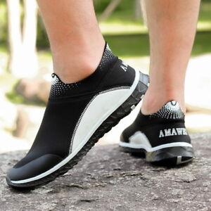 96b5361d3cc8 Men s Water Beach Shoes Slip On Quick Drying Aqua Shoes Swimming ...