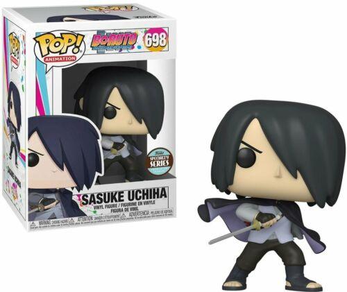 Boruto Movie Sasuke Uchiha with Cape Vinyl POP Figure Toy #698 Naruto FUNKO MIB
