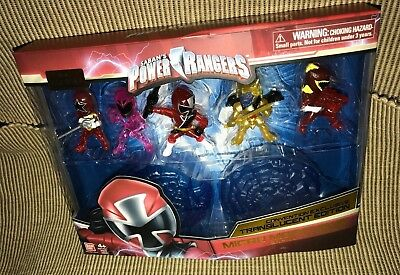 SDCC 2017 POWER RANGERS MICRO MORPHINS 5 PACK TRANSLUCENT MINI FIGURES LE 2250