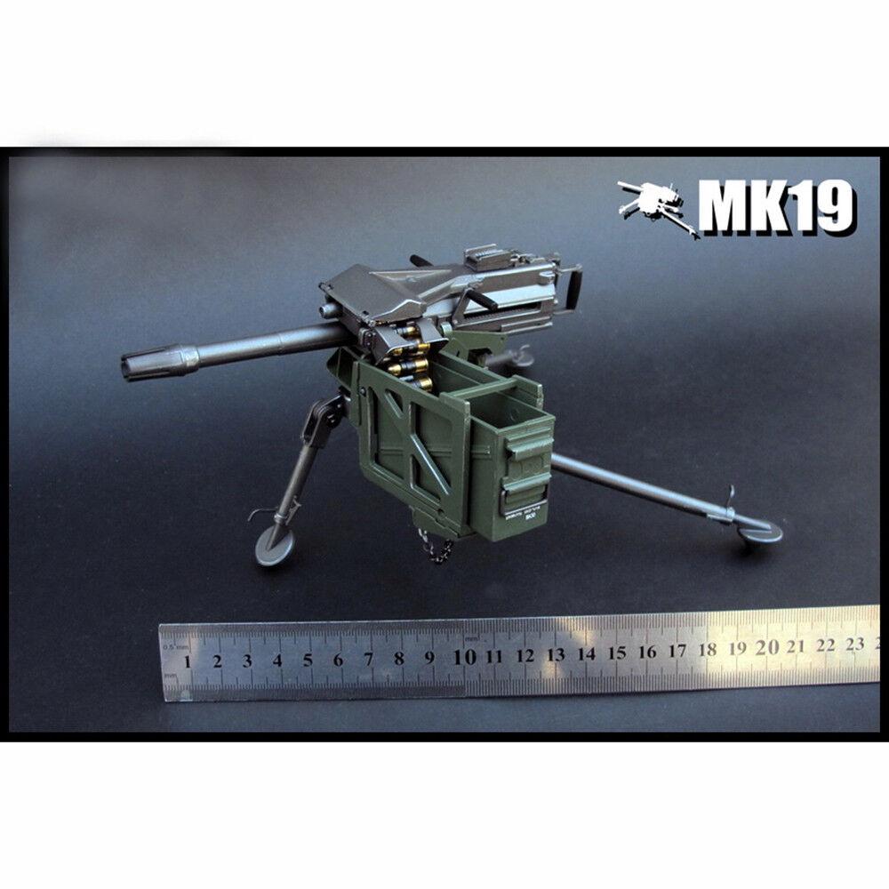 ZYTOYS 1/6 Scale Mk 19 Grenade Launcher Model for 12
