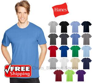 ff0be558c8b1 Hanes Nano T-Shirt Light Weight Ringspun Cotton Mens Comfort Soft ...