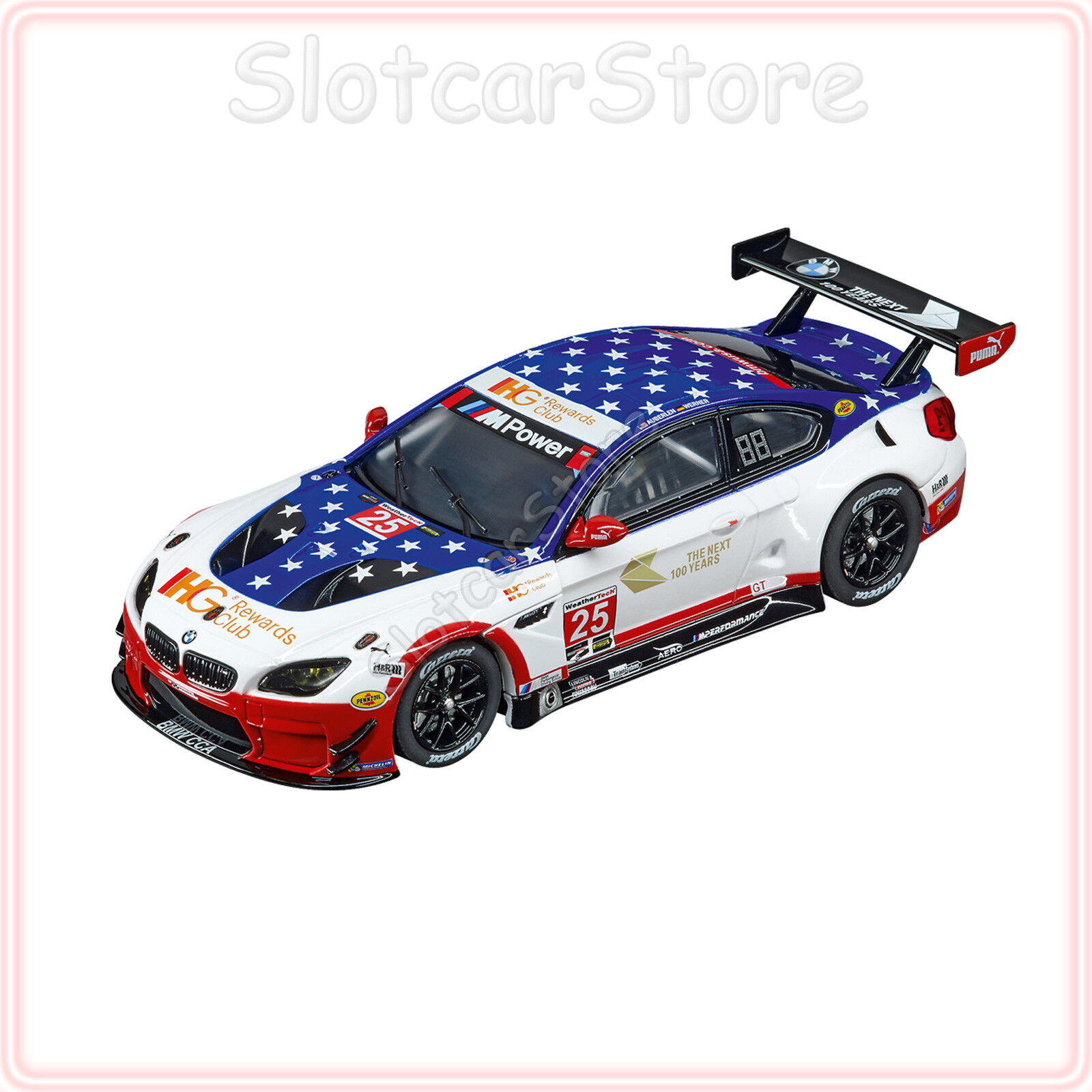 Carrera Evolution 27559 BMW M6 M6 M6 GT3  Team RLL No.25  1 32 Slotcar Auto  | Good Design  c58678