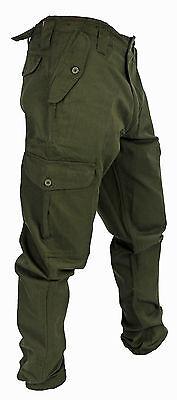 WWK Mens/Kids Army Combat Work Trousers Pants Combats Cargo Pockets Heavy Duty