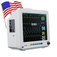 Us Multi Parameter Vet Nibp Spo2 Ecg Resp Pr Vital Signs Icu Ccu Patient Monitor