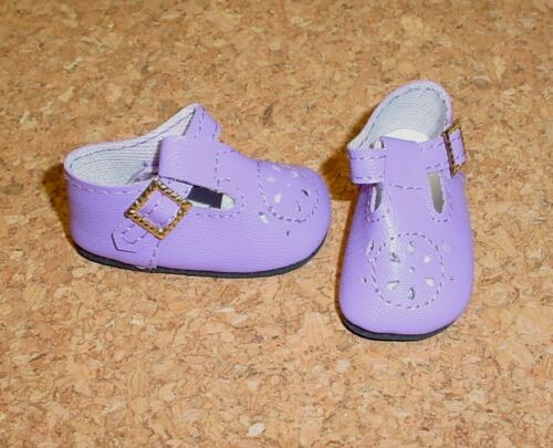 "DOLL Shoes 14/"" Betsy 50mm LIGHT PURPLE t-Straps fit P90 Toni Hopscotch Hill"