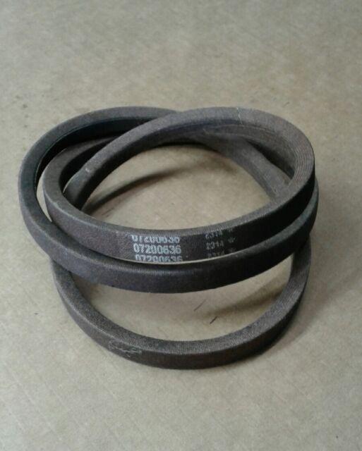 wrapped 4l ARIENS 07200636 v-belt