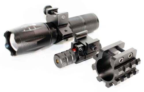 Flashlight. Mossberg 500 parts Shotgun Barrel Mag Tube Mount+Red dot Sight