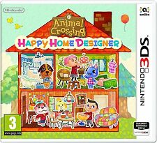 ANIMAL CROSSING HAPPY HOME DESIGNER JEU 3DS NEUF
