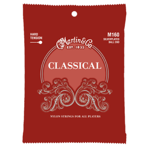 Martin-M160-Silverplated-Ball-End-HighTension-Nylon-Classic-Guitar-Strings-28-43