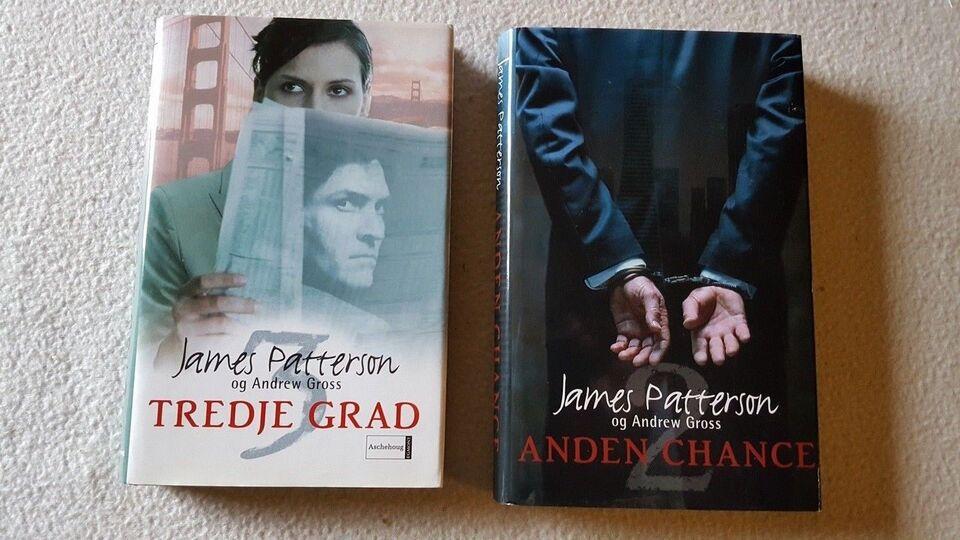 JAMES PATTERSON , JAMES PATTERSON, genre: krimi og