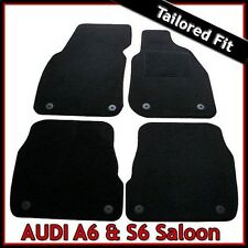 Audi A6 Saloon C5 1997-2005 Fully Tailored Fitted Carpet Car Floor Mats BLACK