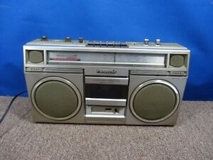 Panasonic RX-5030 AM FM Stereo Cassette Boombox Ghetto Blaster As Is Parts Looks