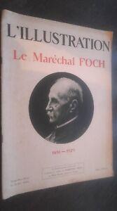 Rivista-Giornale-Settimanale-L-039-Illustrazione-Maresciallo-Foch-6-Avril-1929-ABE