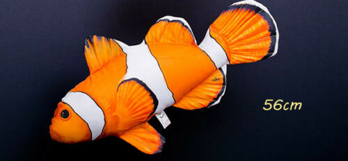 GABY Kissen Kuscheltier Fisch FALSCHE CLOWNFISCH Plüschtier Plüschfisch Geschenk